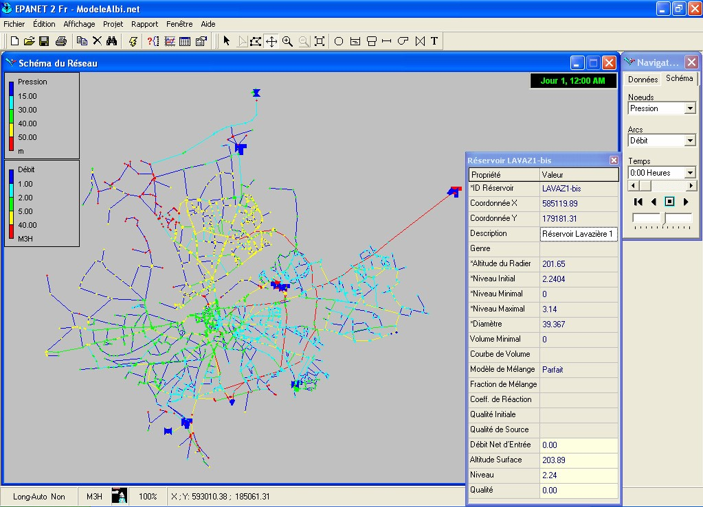logiciel piccolo hydraulique
